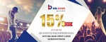 need bookmyshow event coupon