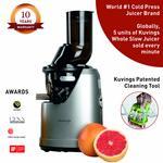 Kuvings Professional 240 Watt Cold Press Whole Slow Juicer (B1700) (Dark Silver)