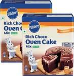 Pillsbury Vanilla Oven Cake Mix 450 g Pack of 2 ₹165       Pillsbury Rich Choco Oven Cake Mix 540 g  Pack of 2 ₹170