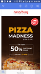 50% off coupon code flash offer for pizza hut....open to all
