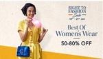 50-80% OFF on Womens Wear