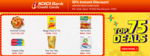 10% Instant Discount with ICICI Bank Credit Cards on purchase of Grocery