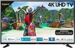 Samsung 138 cm (55 Inches) Super 6 Series 4K UHD LED Smart TV UA55NU6100 (Black)