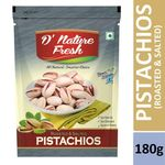 D'Nature Fresh Roasted Salted Pista Pack of 2 (180g + 180g) @ Rs 472
