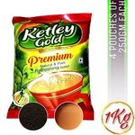 Lowest Online - Ketley Gold Tea [250 GMS (4)  - 1 KG ] at just Rs. 319