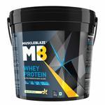 Muscleblaze 100% Whey Protein Supplement Powder - 4 kg / 8.8 lb (Vanilla)