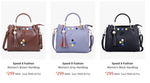 Speed X Fashion Women's Handbag Starting @299