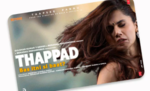 BookMyShow Offer on Thappad Movie - Rs. 100 off on Rs. 200