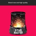 Star Master Night LED Lamp/Light (Black) Buy For Just Rs.199