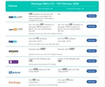 Jio All Cashback Offers at One Place Official