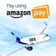 Up to INR 10,000 Instant Discount on GoAir Domestic and International Flights with Amazon pay on Makemytrip
