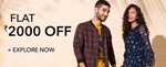 Flat Rs.2000 Off On Myntra + Paypal Cashback Upto Rs.400