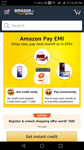 ₹ 500 cashback on ₹ 3000 offer - Amazon