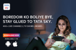 Get 50% Cash back upto 100₹ on Your Next TataSky DTH Recharge via LazyPay