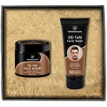 Bold & Beard De-Tan Pack of Face Wash And Face Scrub For Tan Removal And Glowing Skin
