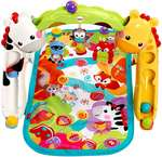 Fisher-Price Newborn to Toddler Play Gym, Multi Color  61% off. Save with 5% off coupon