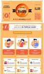 Freecharge Foodie Pass :- Get 15% Discount on Ur Food Billls at Ur Nearby Selected Restaurants using Freecharge