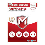 Max Secure Antivirus Plus - 1 PC, 1 Year available at Rs. 69