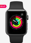 Apple Watch Series 3 GPS - 42 mm Space Grey Aluminium Case with Black Sport Band  (Black Strap Regular)