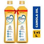 Hudson Canola Oil, 1L (Pack of 2)