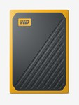 WD External 500 GB SSD My Passport Go External Solid State Drive with Amber Trim (Amber)