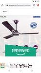(Renewed) Luminous Krona 1200mm 70-Watt Ceiling Fan (Lavender)