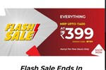 Flash Sale : Everything At Rs 399