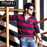 Mufti Men's Clothing Min 70% off from Rs.492 @ Tatacliq