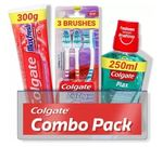 Selected Locations - Colgate Max fresh combo 3 brushes, mouthwash  ,toothpaste