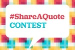 Day 6 Contest - Share a quote