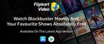 Stay At Home - Watch Blockbuster Movies & Shows Absolutely free at Flipkart videos