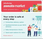 Order Grocery/Fruits from Zomato App