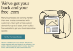 Free .COM for 5 years & Free Ecommerce Website Builder   MailChimp