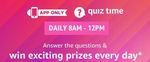 Amazon *World Earth Day Edition* Quiz Answers - Win Rs.10,000 Amazon Pay balance - 10 Winners