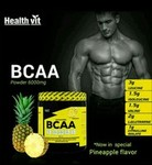 BCCA 6000mg 2:1:1 with L glutamine and L citrulline malate ( Pineapple flavour)