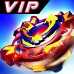 Paid App For Free - Super God Blade VIP : Spin the Ultimate Top!