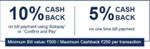 (User Specific)Cashback on Billpay using Citi Credit Card Upto 10%
