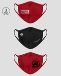2-Layer Everyday Protective Mask - Pack of 3 ( Logo Marvel )