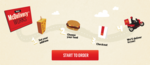 Visacards Get freebies on Mcdelivery  on minimum spends of Rs.229