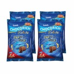 LuvIt Eclairs Chocorich Classic Chocolate Birthday Party Gift Pack, 384g - Pack of 4