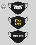 Bewakoof - get 20% off Face Mask ( pack of 3 )