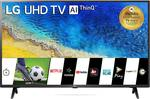 LG 108cm (43 inch) Ultra HD (4K) LED Smart TV  (43UM7290PTF)