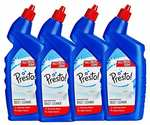 [PANTRY] Amazon Brand - Presto! Disinfectant Toilet Cleaner - 1 L (Pack of 4)
