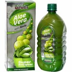 50% Off - Herbal Trends Aloe Vera With Amla Juice-1000Ml- Super Energizer - Pure- From Himachal Pardesh