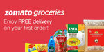 Zomato Groceries | First Order Free Delivery | Select users