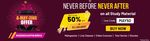 Adda247 - Flat 50% off on all Study Material + extra 5% off on App