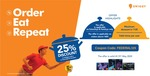 Get flat 25% off on swiggy using Federal Bank Debit Cards  on Saturdays & Sundays