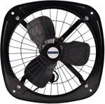 Sauran 230mm Ventilation Exhaust Fan, Heavy Duty (With Warranty) 230 mm 3 Blade Exhaust Fan (Black, Pack of 1)