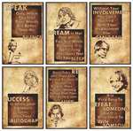 Abdul kalam motivational poster (12 x18 ) - Set of 6 @ 199/-