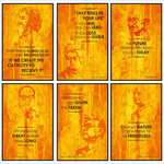 Lowesr Ever - Freedom Fighter posters (12 x 18 ) - Set of 6 @ 149/-